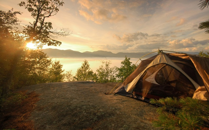 the yogi student's camping guide